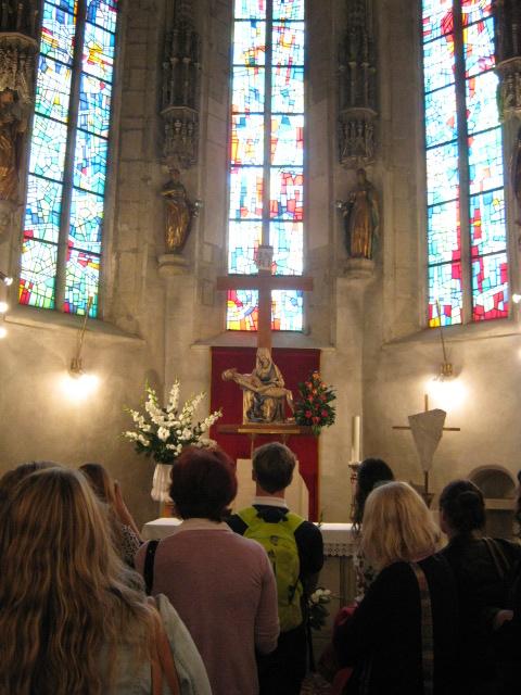 V Marijini kapeli v Celju